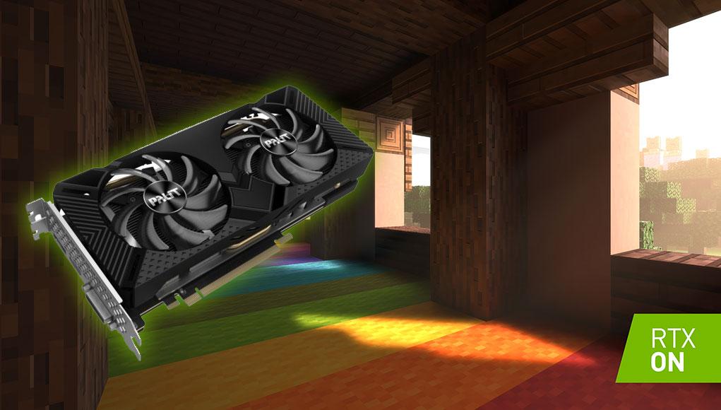 RTX, DLSS 2.0, Minecraft RTX ve PALIT GeForce RTX 2060 SUPER DUAL!