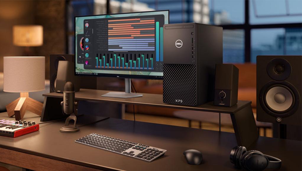 Yeni XPS Masaüstü ve Dell S-serisi Monitörler ile yaratıcılığınızı arttırın