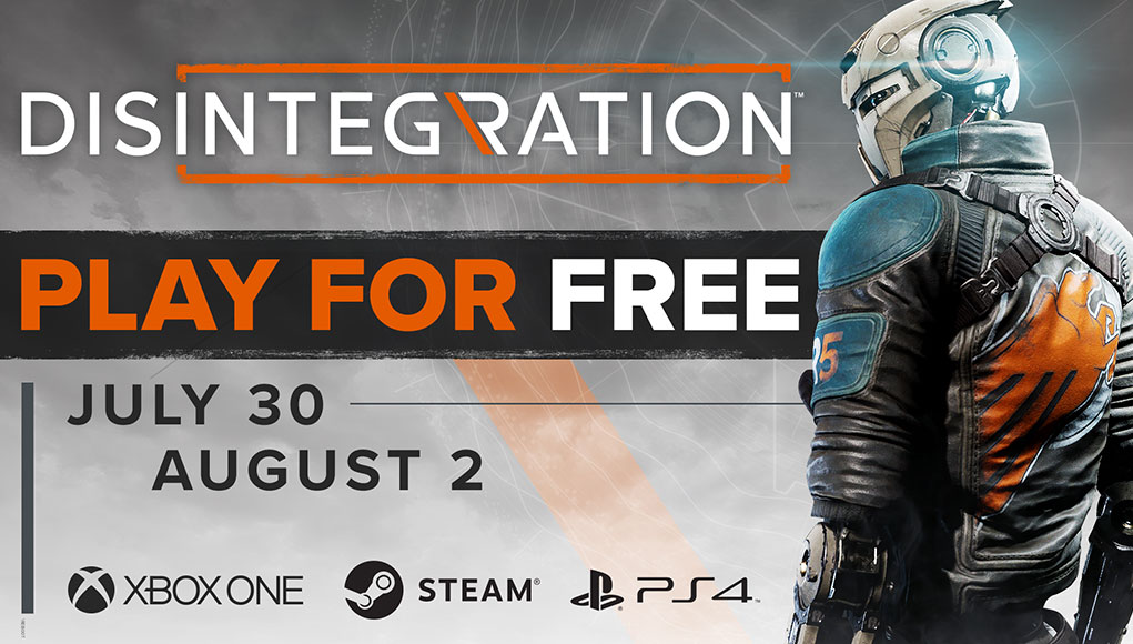 Disintegration; PC, PlayStation 4 ve Xbox One'da Hafta Sonu Ücretsiz!