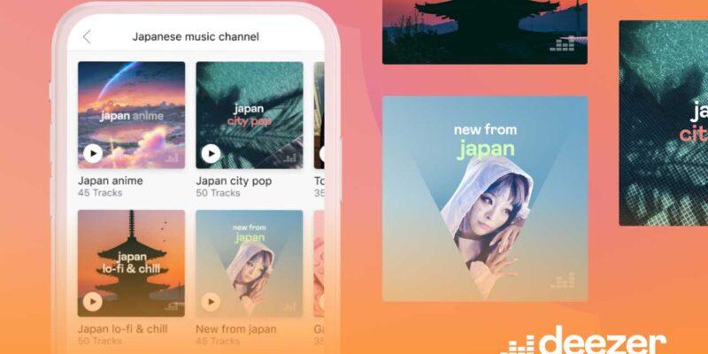 Japon Anime ve Oyun Soundtrack'leri Deezer'ın Japon Müzik Kanalında