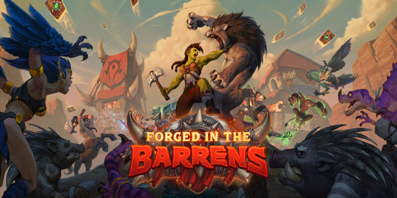 BlizzCon 2021 Hearthstone Forged In The Barrens