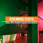 BENQ 24.5 MOBIUZ EX2510 Video İnceleme