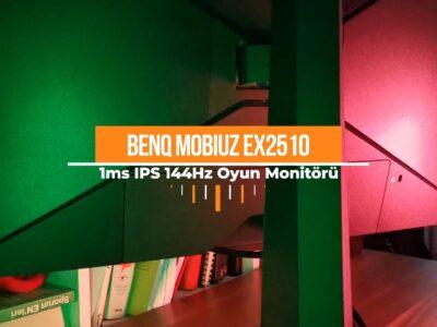 BENQ 24.5 MOBIUZ EX2510 Video İnceleme