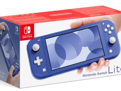 Mavi Nintendo Switch Lite konsolu, 7 Mayıs 2021'de Avrupa'ya geliyor