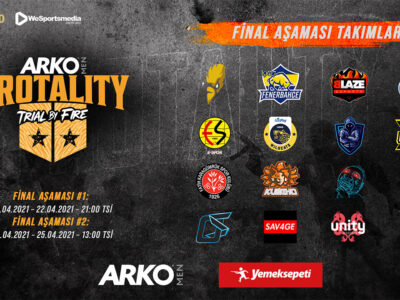 ARKO MEN PROTALITY: Trial by Fire için final zamanı