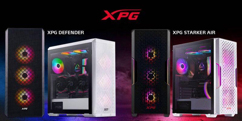 XPG Modüler PC kasaları XPG STARKER AIR ve XPG DEFENDER ürünlerini duyurdu