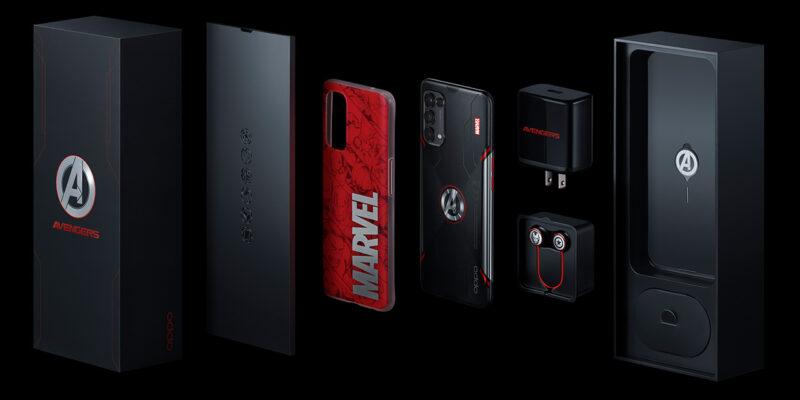 OPPO Reno5 Marvel Edition telefonunu duyurdu