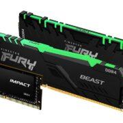 Kingston FURY Renegade, Beast ve Impact bellekleri piyasaya çıkıyor